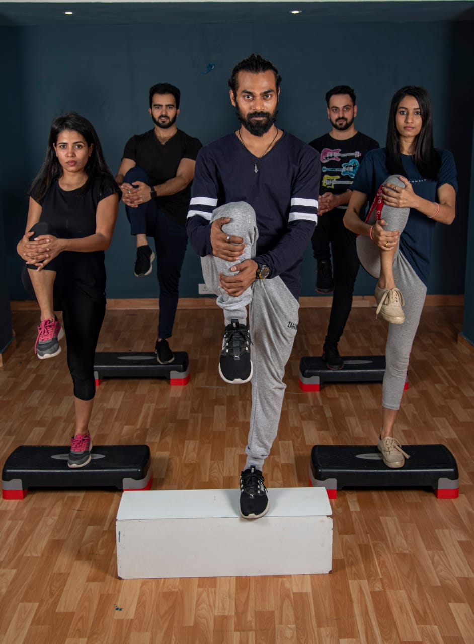 fitness classes in Delhi