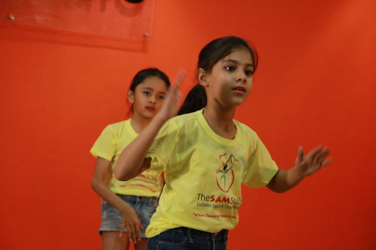 kids dance studio in Vasant kunj