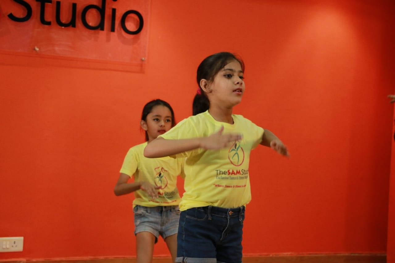 kids dance classes in Vasant kunj