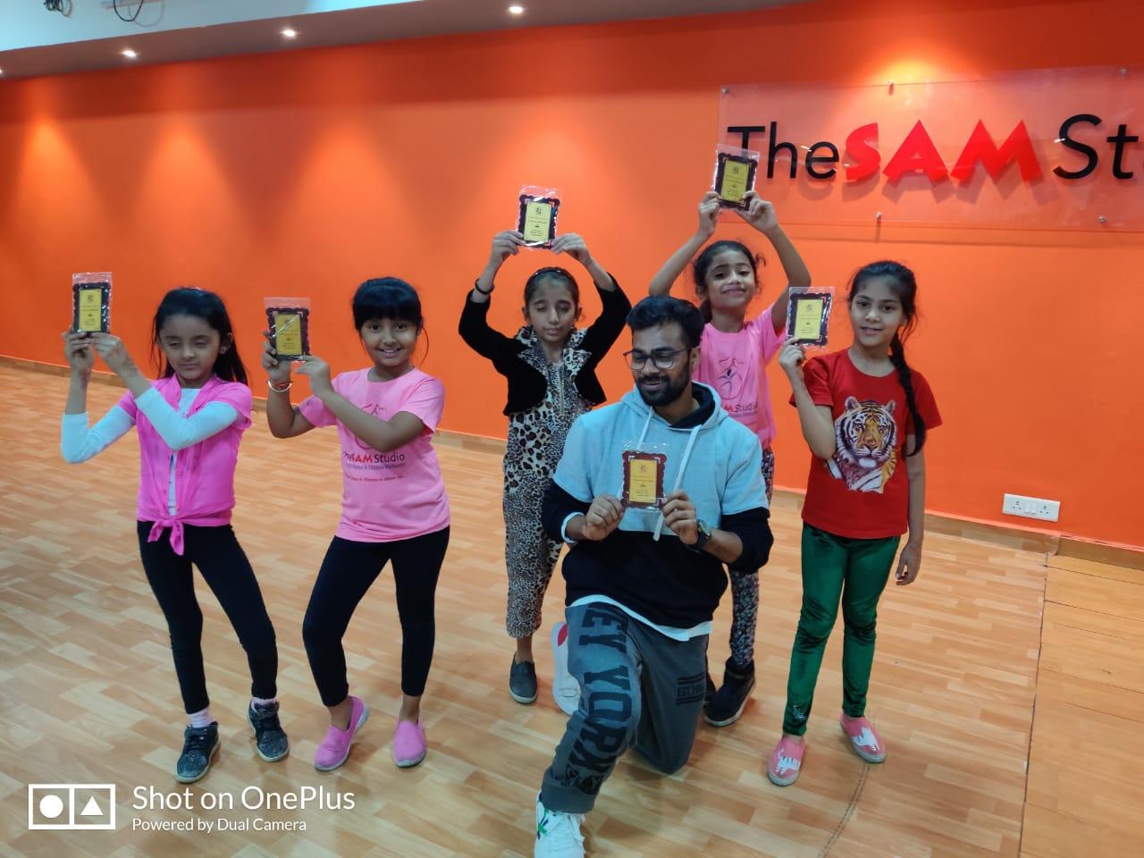dance classes for kids in vasant kunj
